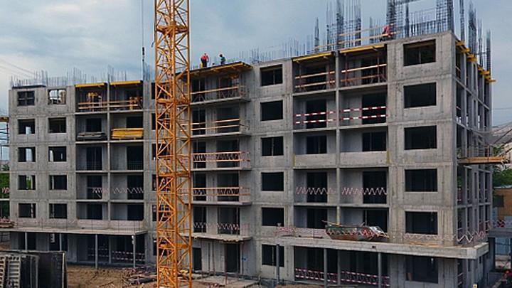 ЖК Полетград в Жуковском – 2019-05 – ход строительства в мае 2019 г.